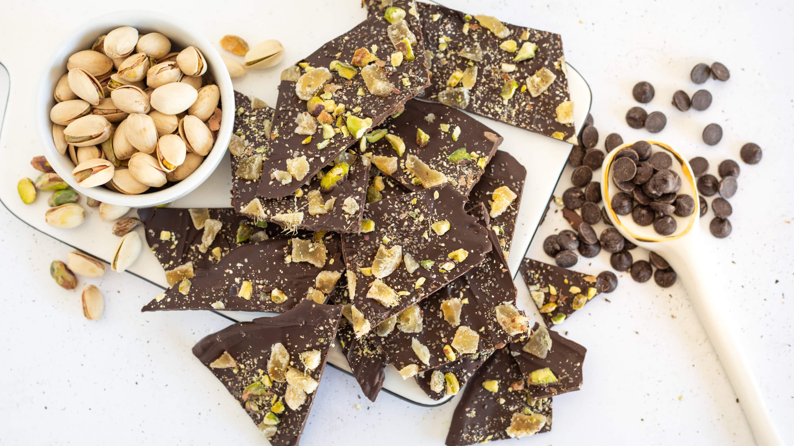 Chocolate Bark Recipe Image