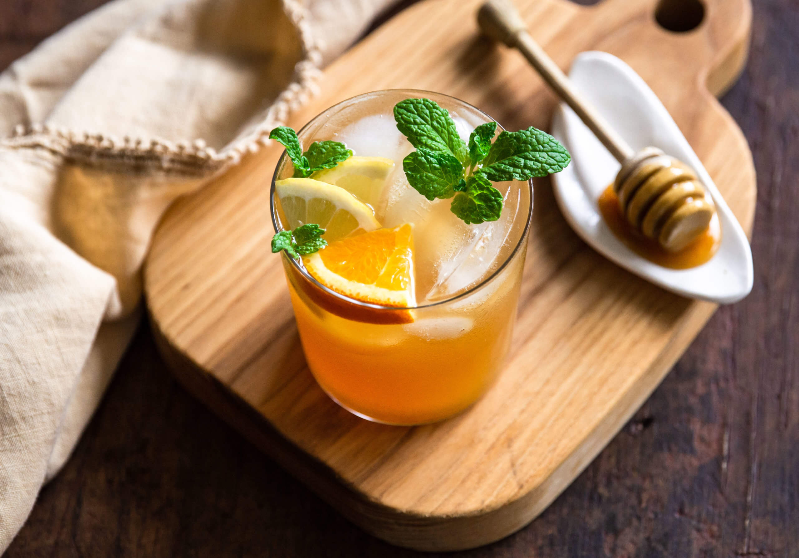 Pineapple & Coconut Mocktail